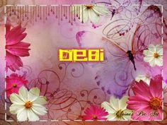 pink butterfly~Debi