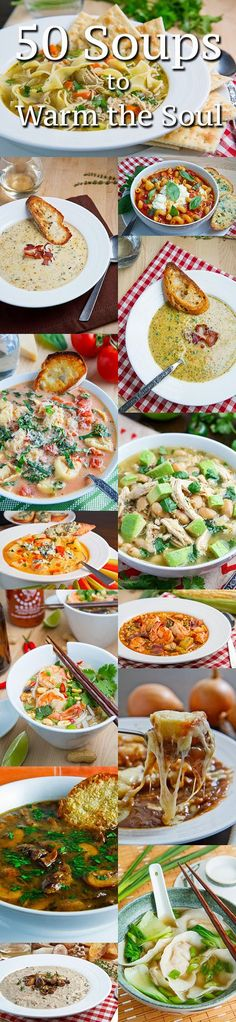 50 Soups to Warm the