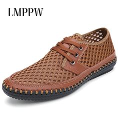 4755399d8b36 Summer Men s Shoes Handmade Breathable Genuine Leather Sandals Big Size  38-48 Brand Men Casual