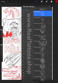 Tattoo Design Drawings, Tattoo Sleeve Designs, Tattoo Sketches, Sleeve Tattoos, Money Tattoo, Alien Tattoo, Brush Sets, Tattoo Stencils, Forearm Tattoo Men