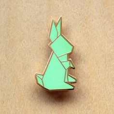 origami lapel pins by hug a porcupine from singapore. origami series collection. brooch. cute. rabbit. fox. whale. unicorn. deer. squirrel. panda bear. penguin. koala. pig. 22 designs. $21.32 (website in singapore dollars, ships worldwide)