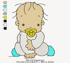 baby met fopspeen