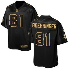 Nike Vikings #81 Moritz Boehringer Black Men's Stitched NFL Elite Pro Line Gold Collection Jersey