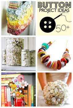Over 50 Button Crafts to Make @savedbyloves
