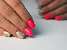#golddisco #shine #semilac #pinkdoll