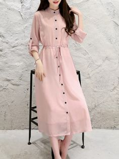 Shop ladies fashion dress online store for every occasion at PopJulia.Find the styles of Dresses at affordable prices. Cheap Maxi Dresses, Casual Dresses, Ladies Dresses, Chiffon Maxi Dress, Floral Maxi Dress, Pink Dress Outfits, Soft Pink Dress, Buy Dresses Online, Western Dresses