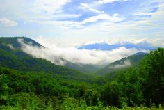 The Nantahala River and National Forest in the western NC mountains