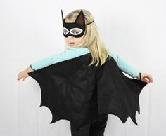 Do it yourself halloween costumes bat costume bats and costumes diy bat costume for halloween see more bat wings mask set black halloween kids costume childrens party door sparrowandbcostumery op etsy solutioingenieria Image collections