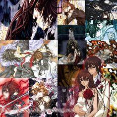 Vampire Knight Collage