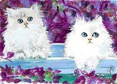 Sylvia Pimental  - Purple Persian Cats