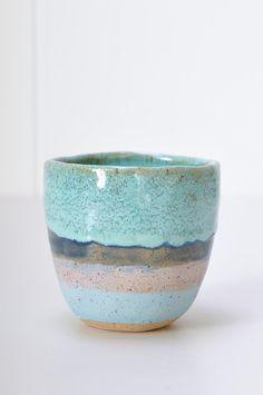 Tea Cup from NY based ceramic artist Shino Takeda.