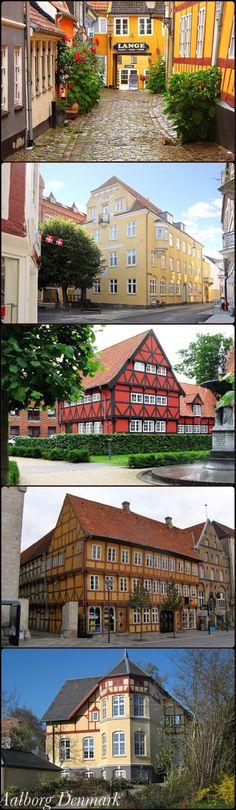 Aalborg, Denmark  My mother grew up here.
