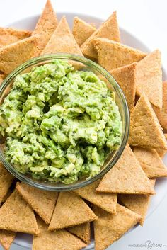 Low Carb Tortilla Chips (Keto, Gluten-free)