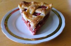 zsuzsa is in the kitchen: STRAWBERRY RHUBARB PIE
