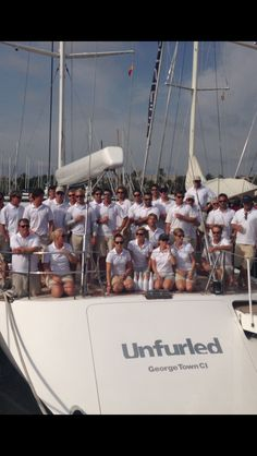 @Royal Huisman Fleet and the crew on #SYUnfurled are waiting for #SYCResults after the last day of #SYC14 in #Palma