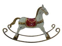 Foto de Figurine do cavalo de balanço do metal (TC-163855) em pt.Made-in-China.com