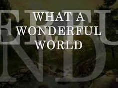what a wonderful world - Louis Armstrong (CIFRADA EM INGLES).wmv - YouTube