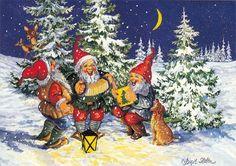 Christmas Drawing, Christmas Art, All Things Christmas, Beautiful Christmas, Xmas Pictures, Pretty Pictures, Christmas Clipart, Winter Art, Magical Creatures