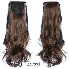 Ponytail Hair Extension Piece Wavy Tie On Long Sexy Synthetic Best Quality Ponytail Hair Piece, Wavy Ponytail, Ponytail Hair Extensions, Ombre Hair Extensions, Ponytail Extension, Ponytail Hairstyles, Human Hair Extensions, Drawstring Ponytail, Short Bob Wigs
