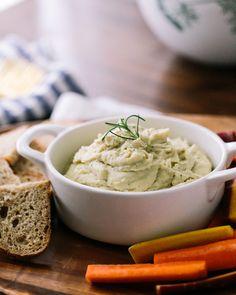 Garlic & Rosemary White Bean Dip