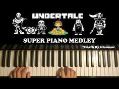 FNAF: SL 4 3 2 1 - SUPER PIANO MEDLEY - The Living Tombstone (Piano Medley by Amosdoll) - YouTube