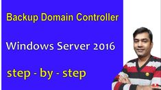 windows server 2016 - additional domain controller - add server to domain 2016 {Hindi} Active Directory, Windows Server, Connect