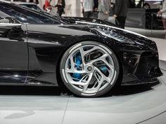 Bugatti La Voiture Noire is 'the most expensive new car of all time' Ferrari F40, Lamborghini Gallardo, Maserati, Rims And Tires, Rims For Cars, Automotive Rims, Audi A7, Ferdinand Porsche, Bugatti Cars
