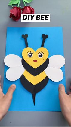 Hand Crafts For Kids, Toddler Arts And Crafts, Animal Crafts For Kids, Spring Crafts For Kids, Fun Diy Crafts, Craft Activities For Kids, Preschool Crafts, Art For Kids, Creative Crafts