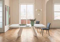 Ausziehbarer Esstisch aus Glas, Holz oder Kunststoff | Möbel ...