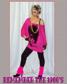 df382812426c9 1980 s Style · 80s Fashion Party80s Party Outfits80s ...