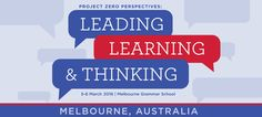 Reflections from Project Zero Melbourne Day One — The Learner's Way