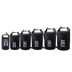d4939b57cb8d Dry Bag 2L5L10L15L20L30L GBSELL New Waterproof Floating Bag for Boating  Kayaking Sailing Rafting Stand Up Paddle