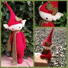 elf mod made by Cherish M. / based on a lalylala crochet pattern. ||  ♡ HE IS JUST TOO CUTE!!!  ♥A