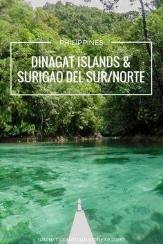 Travel guide to Dinagat Islands, Surigao del Sur, Surigao del Norte (Philippines)   Siargao   Barobo   Sohoton Cove