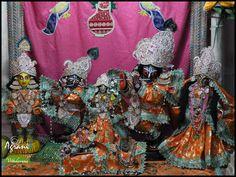 The altar of Sri Sri Radha Gokulananda  Read more at www.vrindavana.org