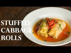 How To Make Stuffed Cabbage Rolls - Japanese Version (Recipe) ロールキャベツの作り方 (レシピ) - YouTube