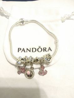 WE ARE NOT AFFILIATED WITH PANDORA. All of the beads and charms will provide you with a unique, beautiful bracelet at a fraction of the cost of a Pandora made bracelet. All beads and charms are interchangeable so you can take off and add as you wish. Pandora Accessories, Charms, Beads, Box, Bracelets, Handmade, Jewelry, O Beads, Bangle Bracelets
