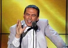 Gilbert Gottfried performing the ceremony.