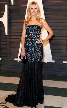 Oscars 2016: All the Dresses You Didn't See | People - Heidi Klum in Atelier Versace