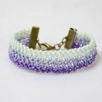 How To Make Cool Friendship Bracelet for Beginners with Half Hitch Knots