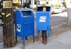 We're huge fans of this crafty walking mailbox costume, which is so realistic it's probably on the cusp of being a federal offense. Devra's daughter should keep this in case she becomes a private investigator and needs a disguise.