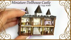 Hi guys! Today we're making another Doll's dollhouse; a 1:144 scale castle :D You guys seemed to really enjoy my first attempt at a dollhouse in such a small...