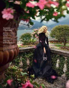 Nikolay Biryukov Shoots Romantic Styles at Lake Cuomo for Elle Ukraine November 2012
