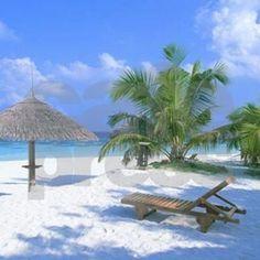 Tropical Beach Wallpaper Praia, Beach Wallpaper, Nature Wallpaper, Tropical Beach Resorts, Tropical Beach Houses, Maldives Beach, Tropical Paradise, Beach Pink, Ocean Beach