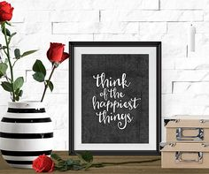 8x10 Printable Art, Peter Pan Quote, Typography Print, Instant Download Art, Inspirational Quote, Black & White Print, Life Printable Quote