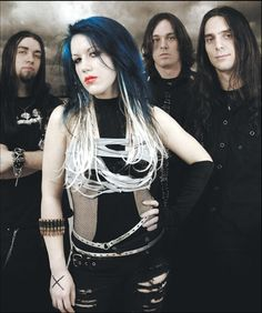 The Agonist's alissa white-gluz Musica Metal, The Agonist, Otep, Heavy Metal Girl, Goth Kids, Alissa White, Symphonic Metal, Arch Enemy, Pop Rock