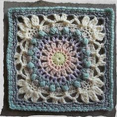This pattern is inspired by actual events and makes up the third in a series on special places and experiences which have shaped my life. This square is a versatile vintage - look piece,and can be used to make anything from a pretty a bag to a gorgeous blanket! I have included two options for the border. As well as some colourway suggestions.