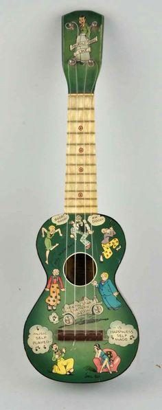Harold Teen (by Harmony) #LardysUkuleleOfTheDay #Ukulele ~ https://www.pinterest.com/lardyfatboy/lardys-ukulele-of-the-day/ ~ The spongebob Ukulele of its day?