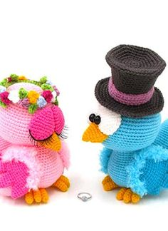 Love bird Crochet pattern, Love bird amigurumi Pattern, Amigurumi Love bird Crochet, Love bird crochet pattern, Love bird crochet, Love bird amigurumi,  Love bird Crochet love bird, crochet Love bird Amigurumi, Love bird crochet toy, Love bird amigurumi doll, Crochet Toys Patterns, Amigurumi Patterns, Stuffed Toys Patterns, Crochet Birds, Crochet Wedding, Extra Money, Crocheting, Crochet Necklace, Plush