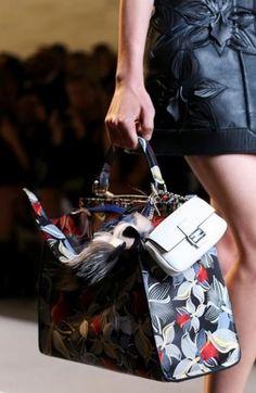 Fendi Borse primavera estate 2015: must have le Mini Bag e i dettagli in Pelliccia Fendi borse primavera estate 2015 handbag